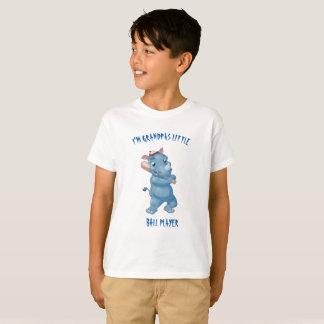 Ich bin Großväter wenig Ball-Spieler T-Shirt
