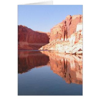 Ich bin heißerer dann See Powell Utah Karte