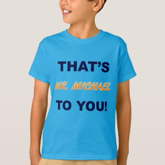 Ich bin Herr Mike T-Shirt