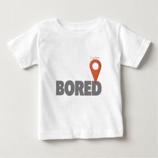 Ich bin hier - gebohrt baby t-shirt
