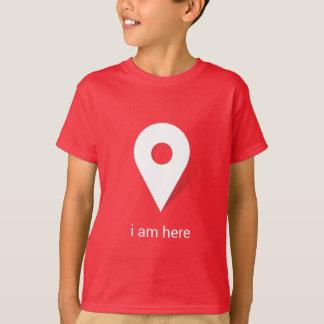 Ich bin hier T-Shirt