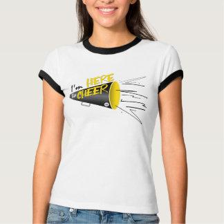 Ich bin HIER ZUZUJUBELN! T-Shirt