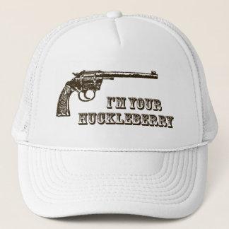 Ich bin Ihr HeidelbeerWestern-Gewehr Truckerkappe