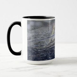 Ich bin in einem Wind-Sturm durch Rena auf einer Tasse