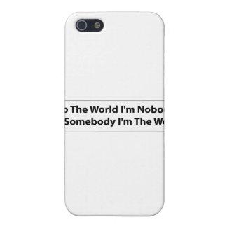 Ich bin jemand etui fürs iPhone 5