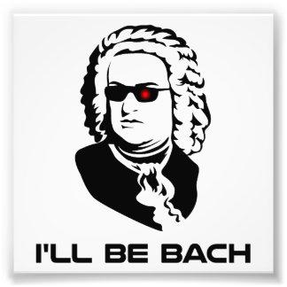 Ich bin Johann Sebastian Bach Kunstfoto