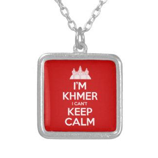 Ich bin Khmer, den ich Ruhe nicht behalten kann Versilberte Kette