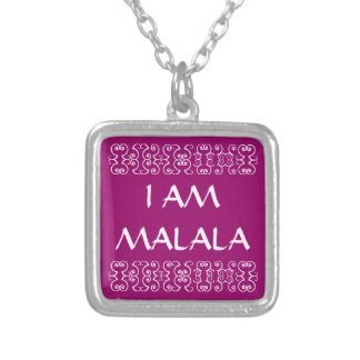ICH BIN MALALA 2 VERSILBERTE KETTE