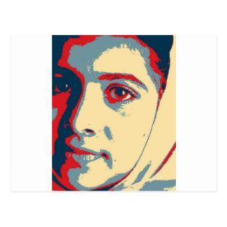 Ich bin Malala Shirt Postkarte