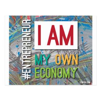 Ich bin MEINE eigene Wirtschaft Postkarte