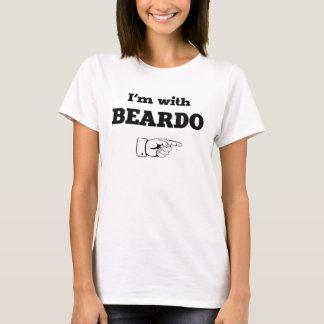 Ich bin mit Beardo T-Shirt