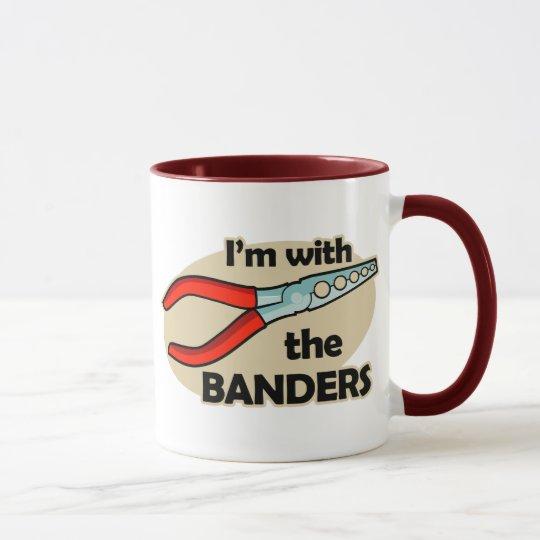 Ich bin mit dem Banders Tasse