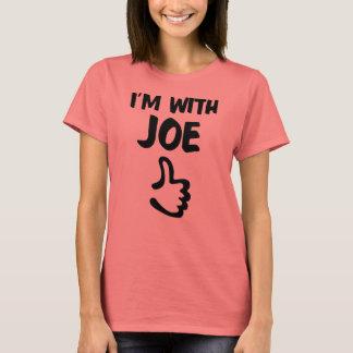 Ich bin mit dem grundlegenden T - Shirt Joe-Frauen