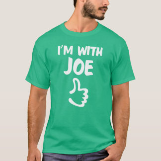 Ich bin mit Joe-Shirt - Kelly-Grün T-Shirt