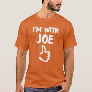Ich bin mit Joe-Shirt - Orange T-Shirt