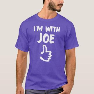 Ich bin mit lila Joe-Shirt - T-Shirt