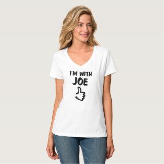 Ich bin mit Nano-T - Shirt der V-Hals Joe-Frauen -