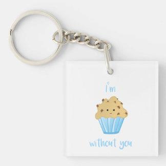 Ich bin MUFFIN ohne Sie - Schlüsselring
