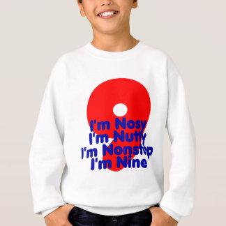Ich bin neun sweatshirt