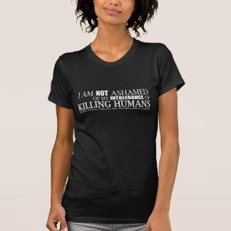 Ich bin nicht beschämtes T-Stück (Front) T-Shirt