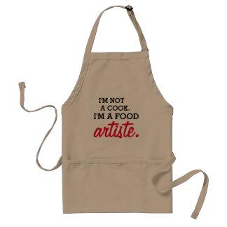 Ich bin nicht ein Koch. Ich bin ein Schürze