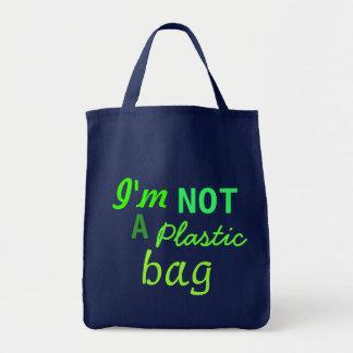 Ich bin NICHT eine Plastiktasche Tragetasche
