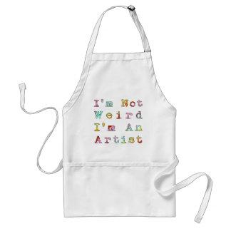 I'm Not Weird, I'm An Artist