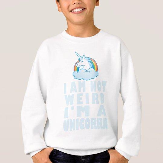 Ich bin nicht ich bin ein lustiges Einhorn - Sweatshirt