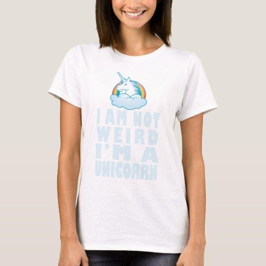 Ich bin nicht ich bin ein lustiges Einhorn - T-Shirt