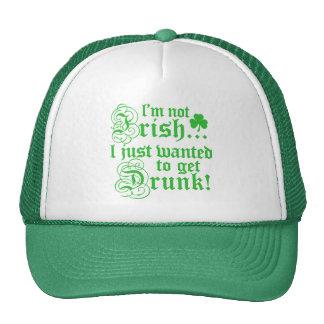 Ich bin nicht irisch truckermütze