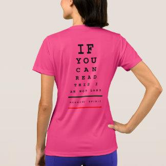 Ich bin nicht letztes Augen-Diagramm - Sport-Tek T-Shirt