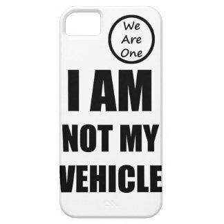 Ich bin nicht mein Fahrzeug iPhone 5 Schutzhülle