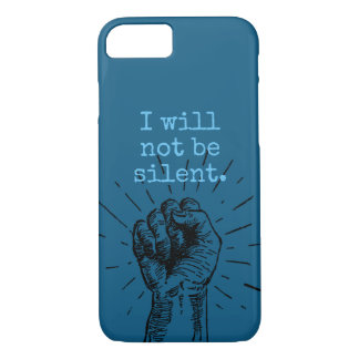 Ich bin nicht stiller Telefon-Kasten iPhone 8/7 Hülle