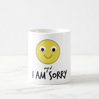 Ich bin nicht traurige Tassen