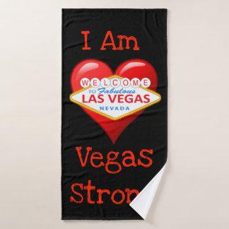 Ich bin starker Vegas Badhandtuch Set