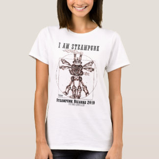 ICH BIN STEAMPUNK ROBOTER 1A T-Shirt