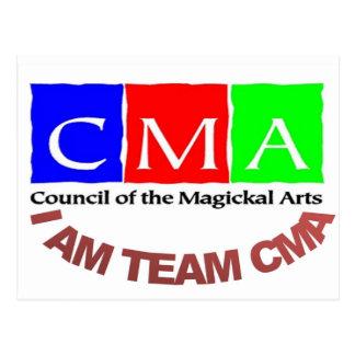 Ich bin Team CMA Postkarte