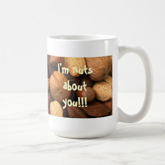Ich bin über Sie!! nuts! Kaffeetasse