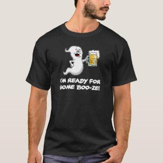 Ich bin zu etwas Schnaps-lustigem Halloween-Geist T-Shirt