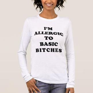 Ich bin zu grundlegendem B *** Shirt allergisch