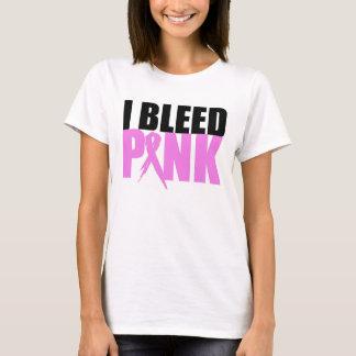 Ich blute Rosa-Brust Krebs-Bewusstseins-Shirt T-Shirt