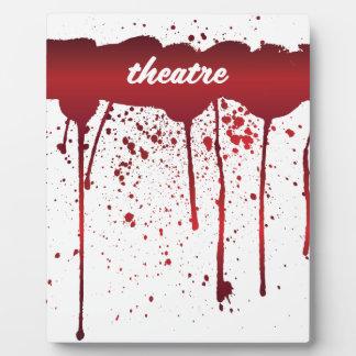 Ich blute Theater 1 Fotoplatte