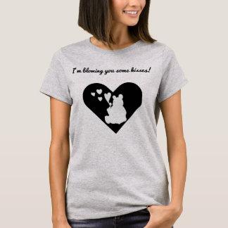 """""""Ich brenne Sie einige Küsse"""" Teddy-Bärn-T - Shirt"""