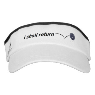 Ich bringe InnenPickleball Maske zurück Visor
