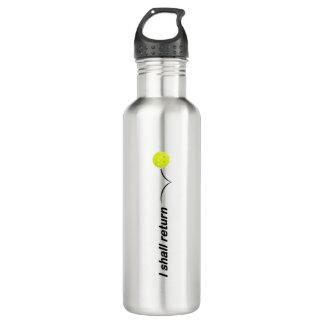 Ich bringe Pickleball Wasser-Flasche im Trinkflasche