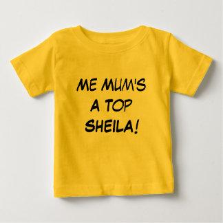 Ich eine Spitzensheila der Mama, australisches Baby T-shirt
