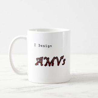 Ich entwerfe AMV Kaffeetasse