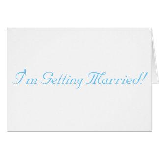 Ich erhalte verheiratet karte