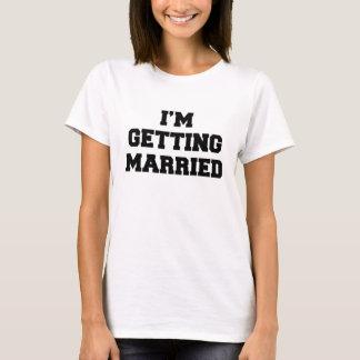 Ich erhalte verheirateten Damen T - Shirt