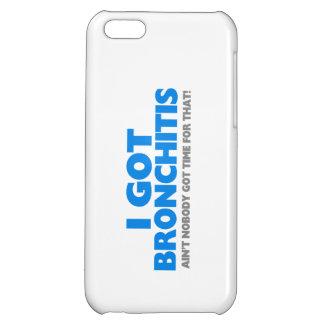 Ich erhielt Bronchitis u. bin nicht niemand iPhone 5C Hülle